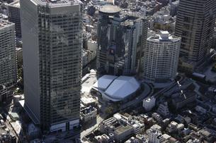赤坂周辺の空撮の写真素材 [FYI00477486]