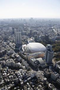 東京ドームシティ周辺の空撮の写真素材 [FYI00477489]