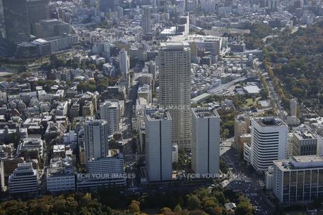 東京上空の空撮の写真素材 [FYI00477593]
