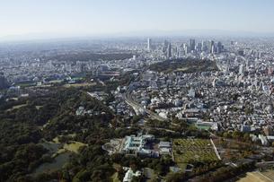 紀尾井町上空の空撮の写真素材 [FYI00477598]