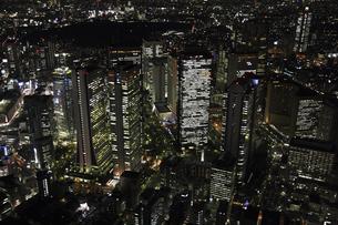 新宿副都心周辺の空撮の写真素材 [FYI00477684]