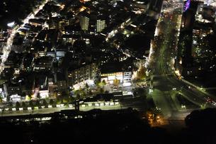 明治神宮周辺の空撮の写真素材 [FYI00477689]