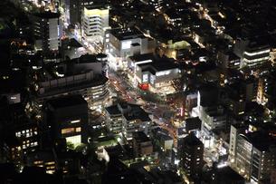 表参道周辺の空撮の写真素材 [FYI00477699]