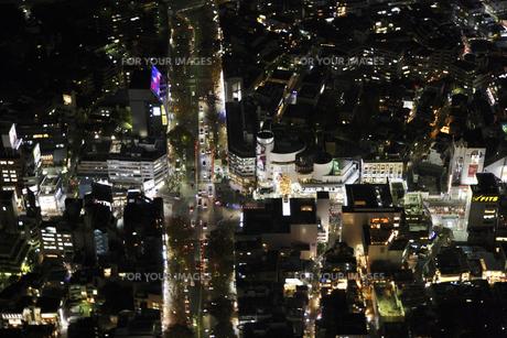 表参道周辺の空撮の写真素材 [FYI00477703]