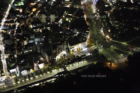 明治神宮周辺の空撮の写真素材 [FYI00477704]