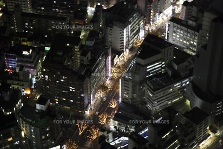 渋谷周辺の空撮の写真素材 [FYI00477723]