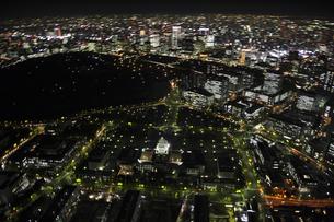 国会議事堂周辺の空撮の写真素材 [FYI00477740]
