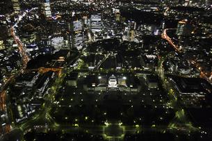 国会議事堂周辺の空撮の写真素材 [FYI00477745]