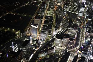 有楽町周辺の空撮の写真素材 [FYI00477755]