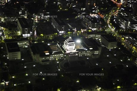 国会議事堂周辺の空撮の写真素材 [FYI00477759]