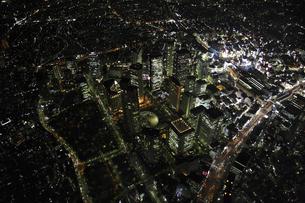 新宿副都心周辺の空撮の写真素材 [FYI00477760]