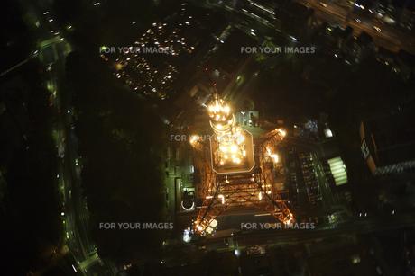 東京タワーの空撮の写真素材 [FYI00477762]