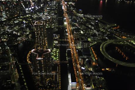 芝浦料金所周辺の空撮の写真素材 [FYI00477767]