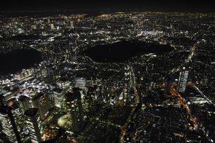 東京上空の空撮の写真素材 [FYI00477802]
