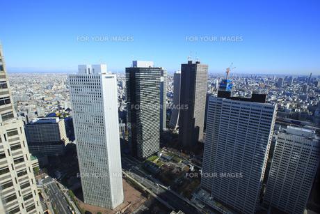 新宿副都心ビル群の写真素材 [FYI00477831]