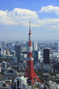 六本木から東京タワーの写真素材 [FYI00477869]