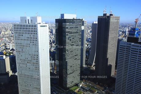 新宿副都心ビル群の写真素材 [FYI00477895]