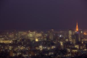 東京の夜景の写真素材 [FYI00478851]