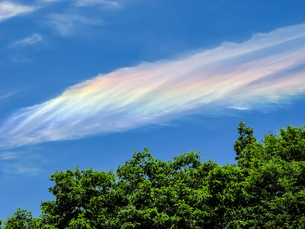 青空と虹彩の写真素材 [FYI00480156]