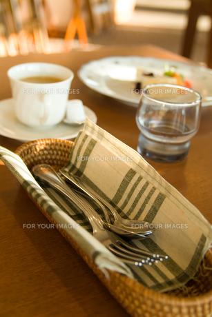 フォークとナイフの写真素材 [FYI00480185]