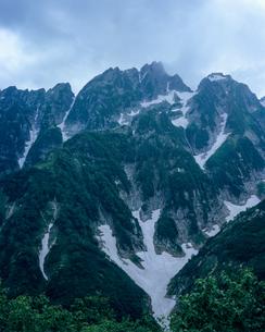 仙人小屋より剱岳を望むの写真素材 [FYI00480217]