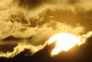 巨大な太陽のエネルギーの写真素材 [FYI00480260]