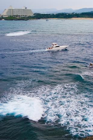 白いヨットの写真素材 [FYI00480280]