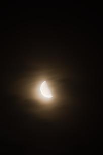 半月の写真素材 [FYI00480356]