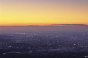 静寂な関東平野、Silence Kanto Plainの写真素材 [FYI00480450]