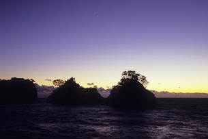 堂ヶ島の夕暮れ、Dusk of Do~ke Islandの素材 [FYI00480462]