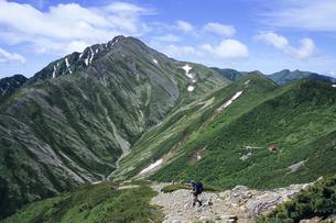 山と登山者の素材 [FYI00480480]