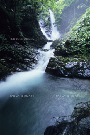 一筋の滝、Waterfall of rayの素材 [FYI00480557]