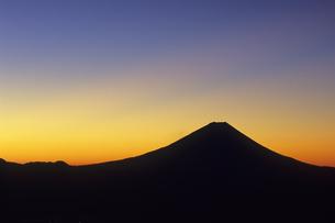 光芒の富士、Beam of light of Fujiの写真素材 [FYI00480571]