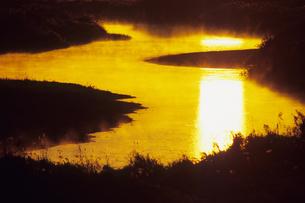 河と光の道、Road of river and lightの素材 [FYI00480573]