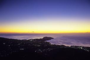 黎明の真鶴半島、Dawn of Manazuru Peninsulaの写真素材 [FYI00480587]