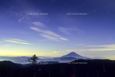 山影と富士の素材 [FYI00480612]