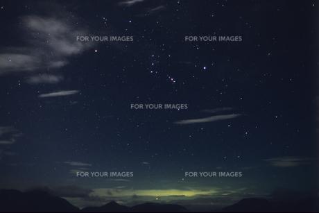星の輝き(オリオン)の素材 [FYI00480636]