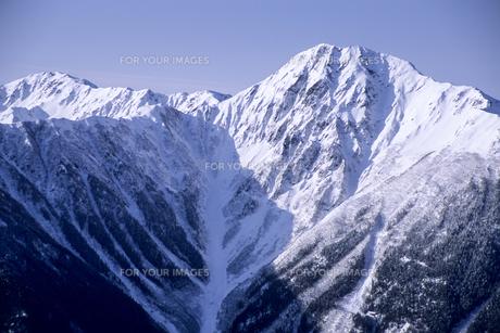 純白の北岳の素材 [FYI00480687]