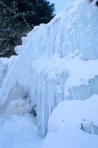 氷結の水簾・善五郎の滝の写真素材 [FYI00480709]