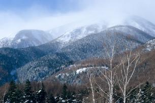 山眠る・乗鞍岳の写真素材 [FYI00480712]