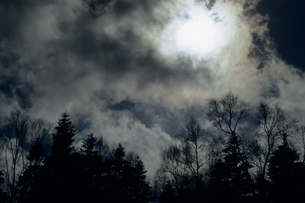 黒雲の写真素材 [FYI00480716]