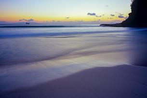 滑らかな砂浜の写真素材 [FYI00480742]