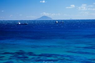 大海原の青い海の写真素材 [FYI00480747]