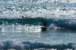 サーファーの海の写真素材 [FYI00480777]