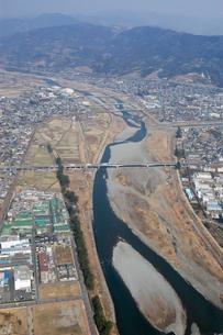 空からの酒匂川の素材 [FYI00480803]
