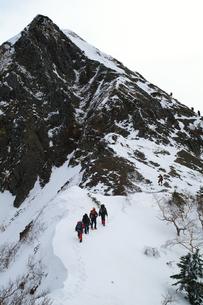 権現岳への登攀の写真素材 [FYI00480832]