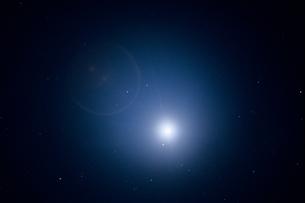 天空の月光の写真素材 [FYI00480907]
