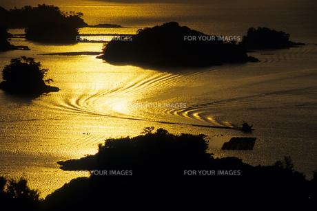 黄金色の海・九十九島の素材 [FYI00480909]