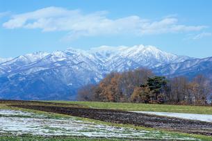 初雪の武尊山の素材 [FYI00480922]