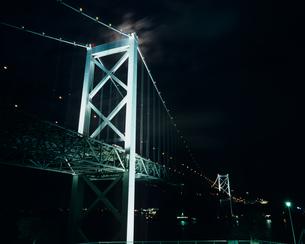 光輝く関門橋の素材 [FYI00480923]